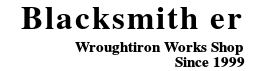 ロートアイアン手摺,門扉のオーダーメイド専門店Blacksmith er